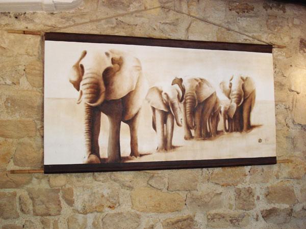Franck Maës: nouvel artiste du Restaurant Tanganyika